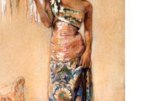 Indonesian Art (5) W.G. Hofker / Paintings by Willem Gerard Hofker