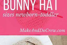 Easter Crochet Patterns / Ideas for a crochet filled Easter.  Eggs, baskets, gift ideas, decor