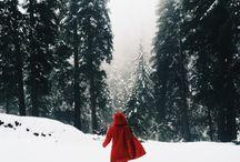 snow winter and christmas