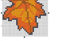 Leaf Cross Stitch