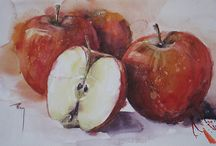 Ovoce, zelenina - malba, kresba