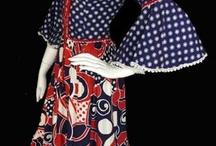 Vintage Fashion - Bohemian Hippie Chic / Boho chic Bohemian hippie 1970's fashions