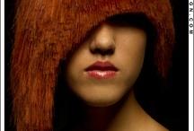 Hair colour red
