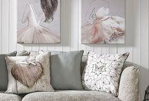 Home Accessories / Cushions, Clocks and Photo Frames to give your home those beautiful finishing touches.  / by Graham & Brown