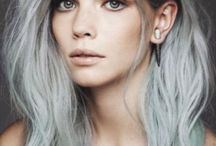 silver metallic hair colours