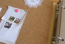 Homemaking Binders / Various styles of binder covers for your homemaking binder. Fabric covered, printables to slide in and more...