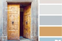wedding color palettes / by Betsy Rizzo