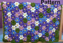 Newborn/Baby Flower Blanket Crochet Pattern / Crochet Pattern On Etsy