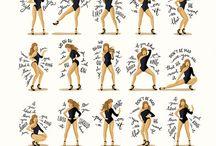 Eylence dans / Sans ve eylence içeren hareketler