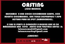 Castings audiciones casting en Madrid