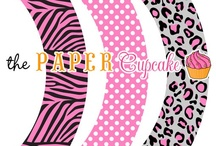 Cupcake Wrappers Printable