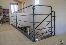 Geländer / Geländer sind nicht nur eine Absturzsicherung, sie prägen ganz klar Ihr Wohndesign.