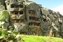 Ventanillas de Otuzco / Las Ventanillas de Otuzco es un sitio arqueológico ubicado en el distrito de Baños del Inca a 8 km al noroeste de la ciudad de Cajamarca. ¿Te gustaría visitar este lugar?