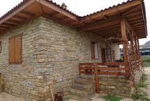 taş  ve ahşap evler