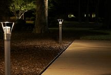 Commercial Outdoor Lighting / Outdoor lighting not only helps your business stand out at night, it also creates a safer atmosphere.