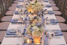 Blue & Silver Wedding