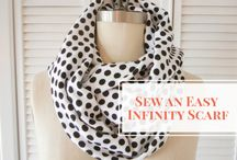 Infinity scarf and other scarves