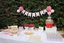 Bautizo Micaela / Bautizo, Baptism, pink and white, decoration, food, party, baby, bebé, kids, niños