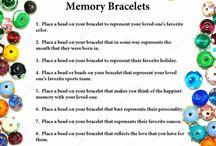 diy memory bracelet
