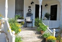 """""""Porches & Doors"""" / by Vickie Castleberry"""