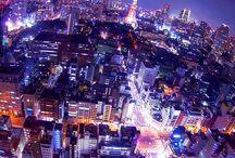 Tokyo at Night / by Belle Marfori