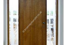 BR19 Insulated Solid Oak Doors