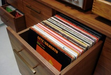 LP record storage - DRAWER