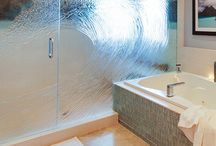 Shower Enclosures / Shower in style! Glass shower doors can make even the smallest bathrooms appear larger. Shower enclosures are a specialty of Cast Glass Images, bringing elegance and modern-day design to your bathroom with comfort and privacy.