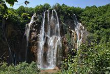 Chorvatské vodopády