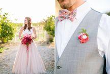 Розово-коралловая свадьба