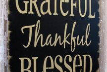 Gratitude ... a Sentiment Important Enough for Its Own Board