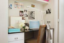 Closet Office Space ideas