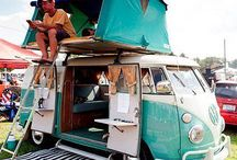 Cool campers / Cool campers. Tips for living in a camper van. Surviving life on the road. How to build your own cool camper. VWs. Converted buses. Vintage camper vans.