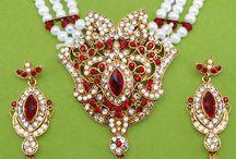 Diamond Polki Jewellery / Marvelous diamond polki jewellery collection