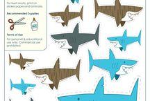 Tubarões e baleias