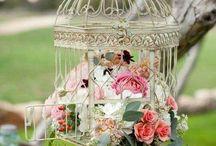 vintage διακόσμηση γάμου