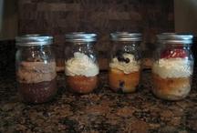 Mason jar desserts / by Becky Smith