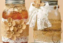 Mason Jar Ideas / by Pat VanderWerff