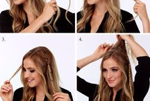 Braid hairdos
