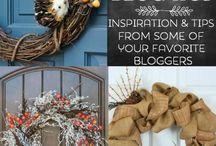 Diy crafts/home ideas