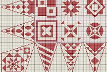 Cross stitch Dear Jane