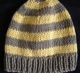 Beanie knitted pattern