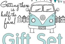 """Campervan Gift - Getting There is Half the Fun Collection / All our """"Getting There is Half the Fun"""" Campervan Gifts collected together for our favourite campervan owners and fans."""