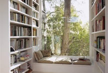 Reading Nooks for BOOKWORMS / Great places to read books www.TheBooksYouLove.com