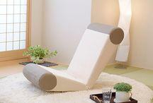 Japanese Chair2 / 日本の座をテーマにデザインした2種類の座椅子デザイン事例