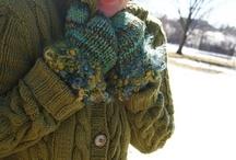 Use of handspun yarn