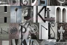 Letter Photography / using what you see around you to create letters / by Crystal Boyce