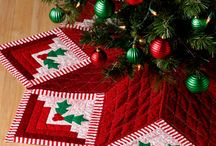 Quilts - Terrific Tree Skirts / by Gwendolyn Fox Roark