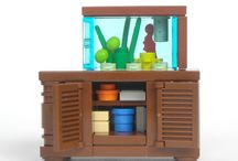 LEGO Aquarium & Table