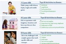Toys / When shopping for the right toy that is fun and help children learn, keep in mind that age appropriate toys are best for specific ages will help keep them safe as well.